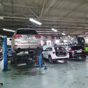Jeep Chrysler workshop